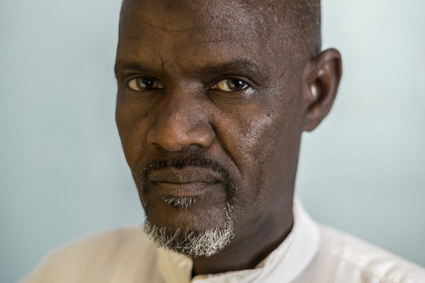 """Victims Of Hissene Habré crimes.  Ousmane Abakar Taher,  He spent four and a half years in prison, ate the leaves of the trees in the courtyard to survive. """" they put out the dead bodies  from the cell when there were accumulated six or seven."""""""