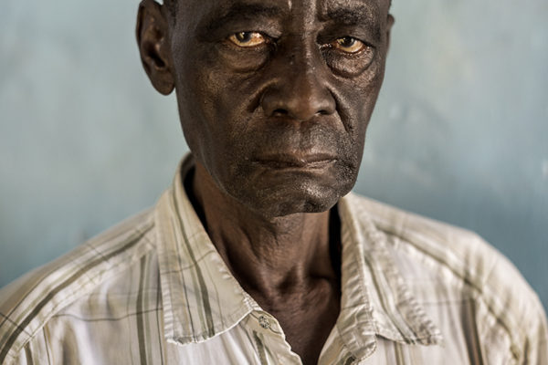 Victims Of Hissene Habré crimes.  Marabí Tondjibédjé. he was a jailer, he was arrested for giving food to the prisoners, was one year and seven months in prison, also he buried the dead bodies