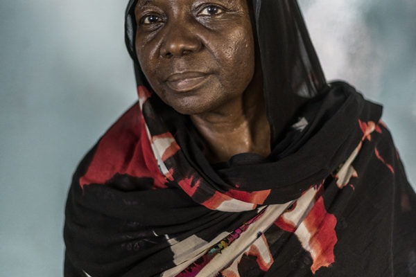 Victims Of Hissene Habré crimes.  Fatimé Tounlé her husband was a member of the Government and complained about the abuses, was killed and Fatimé also lost his house, occupied by the family of Habré.