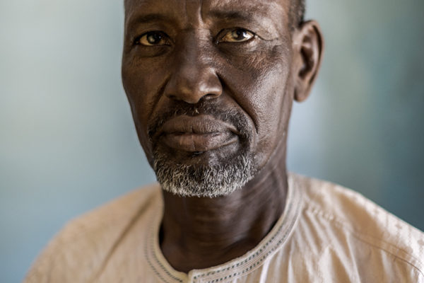 Victims Of Hissene Habré crimes.  Abderrahman Mahamat Souleyman. He met Hissene Habré a few times. He refused to give the police his bike and theyarrested him. He was tied feet and arms.