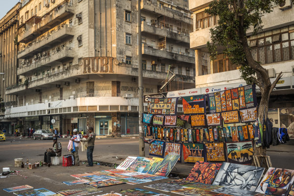 Crafts Market in the centre of Maputo.
