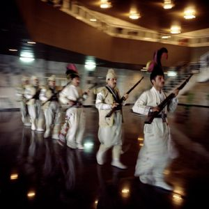 Changing of guard in the first kurdish parliament. Erbil, 2004